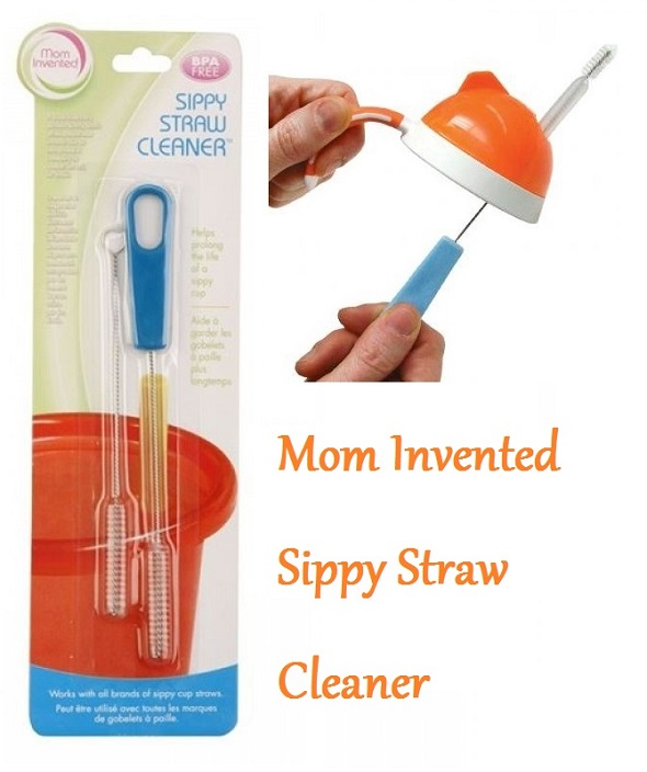 mom invented sippy straw cleaner