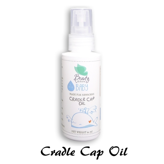 beauty barn baby cradle cap oil
