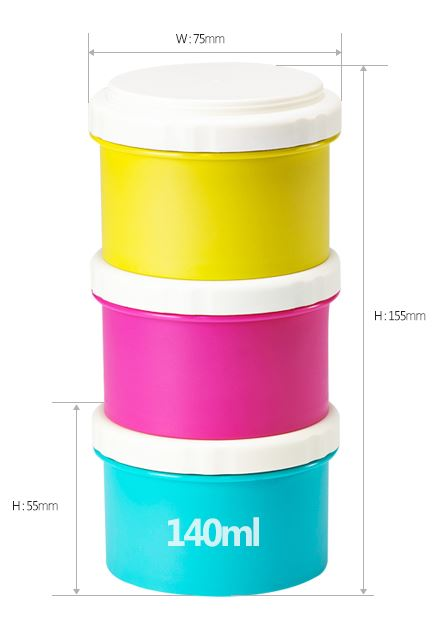 cimelax mini lunch food container dimensi