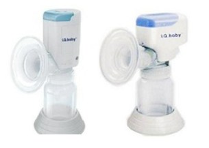 iq baby electric breastpump two model
