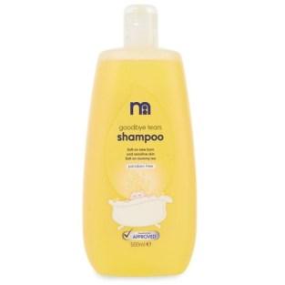 mothercare goodbye tears baby shampoo 500ml