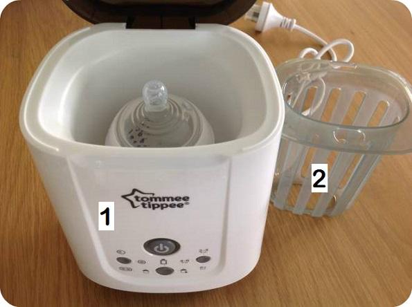 tommee tippee pouch and bottle warmer (kelengkapan)