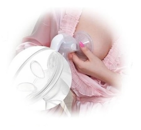 Real Bubee Manual Breastpump in Use