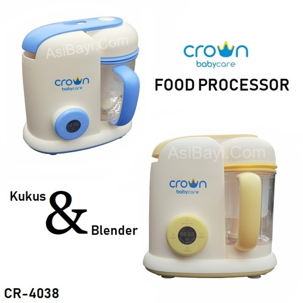 Crown CR-4038 3in1 Food Processor