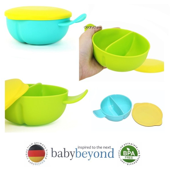 Baby Beyond Divided Bowl with Handle