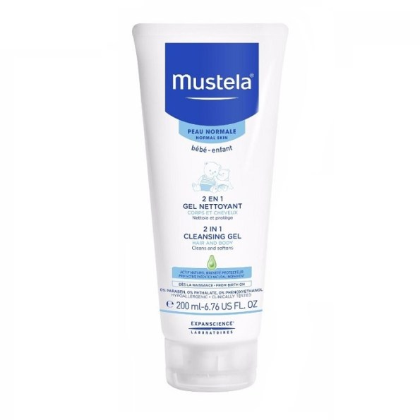 Mustela Bebe 2in1 Cleansing Gel Hair and Body