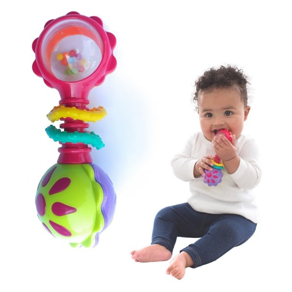 Playgro Twisting Barbell Rattle