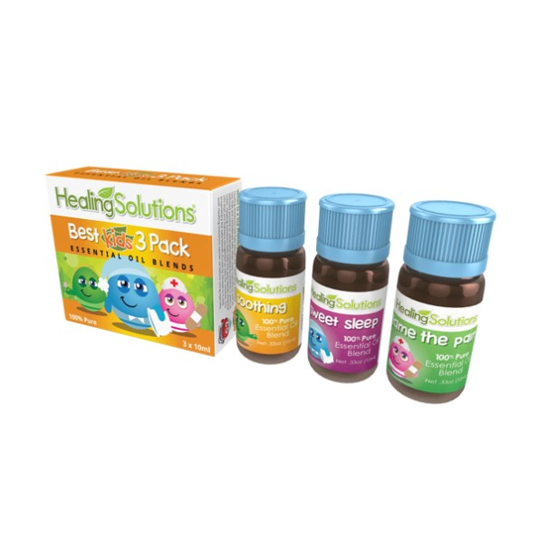 Healing Solutions Best Kids 3 Pack