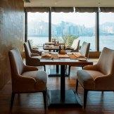 Bay Club Lounge Kerry Hotel Hong Kong Amenities