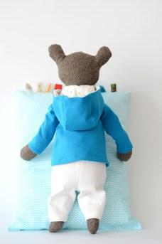 AsiekArt handmade toys teddy bear