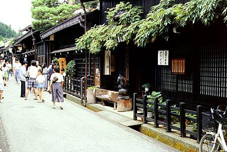 Das japanische Haus, japanisches Bad, Ofuro, Onsen, Rotenburo. Roman