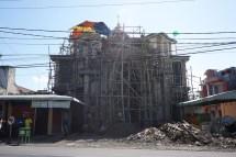 Moschee unter'm Mikado-Spiel