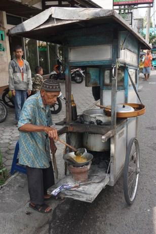 Straßenküche in Yogyakarta