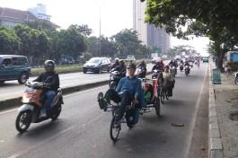 Einfahrt in Bandung