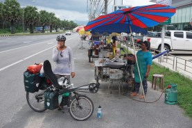 Stärkung (frittierte Bananen), Phuket