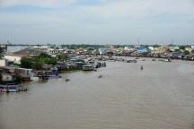 Mekong-Nebenfluss Sông Cần Thơ in Cần Thơ