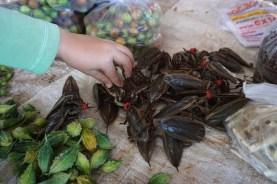 auf dem Abendmarkt in Thakhek