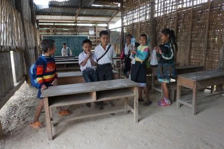 in einer Dorfschule