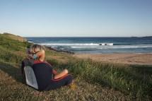 abendliches Fernsehen, heute: Surfen