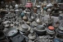 Aladins Wunderlampen Laden im Basar in Kashan