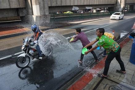 Songkran, das buddhistische Neujahrsfest - Bangkok