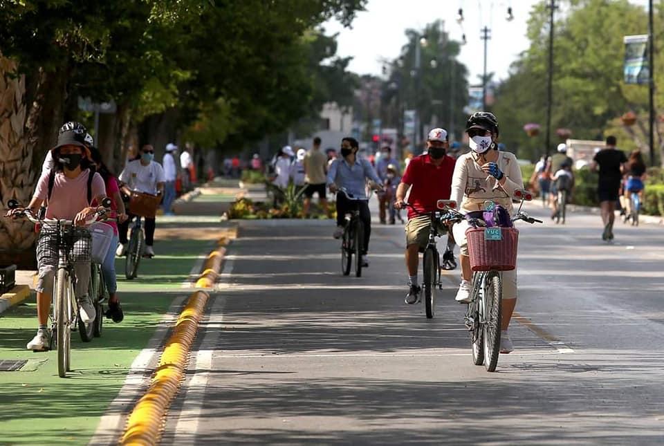 paseo en bicicleta Mérida