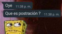 postración