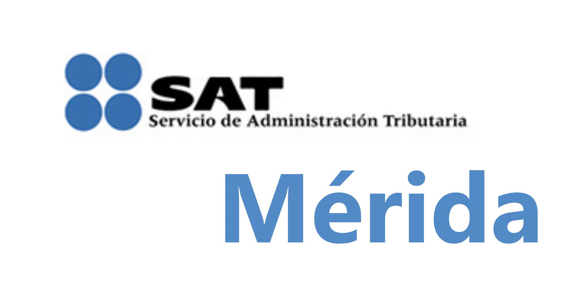 agendar una cita en el SAT de Mérida