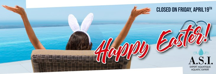 The office will be closed on Friday, April 19th for Good Friday