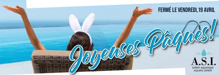 Nos bureaux seront fermés le Vendredi Saint, 19 avril