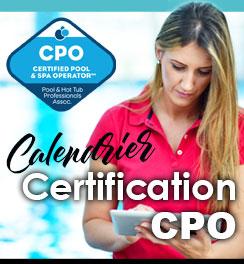 Calendrier Certification CPO