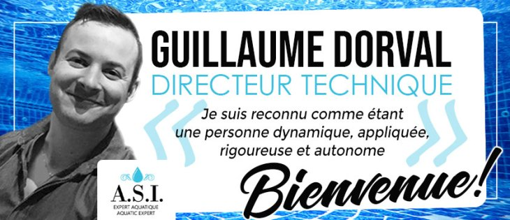 Bienvenue Guillaume Dorval