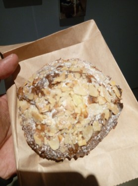 A little French bakery has Beijing's best chocolate almond croissant. YOU CAN'T MISS IT!