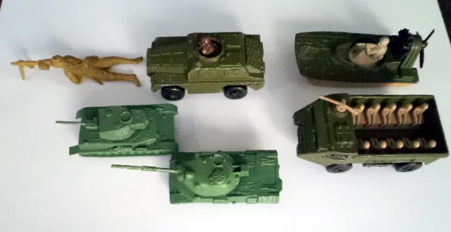 All that remains of our army toys 1980s
