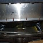 aluminum trunk panel