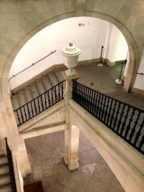 Old grand staircase