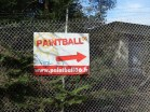 As I came back up into civilization I passed a camping ground and paintball field.