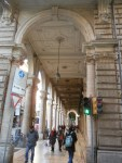 The porticos are from every era and decorative style.
