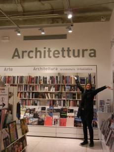 I can get distracted by architecture books anywhere.