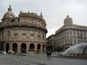 One of many main plazas.