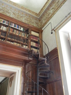 I was particularly drawn to the spiral staircases which adorned the corners of every room.