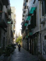 All thorofares with the exception of a few main roads, are very narrow and the street is shared by pedestrians, mopeds and cars.