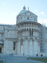 """But the """"back"""" of the Cathedral is still impressively ornamented."""