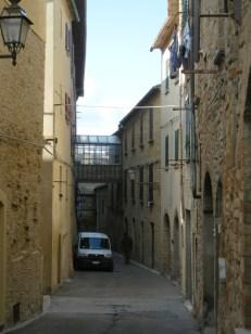 Medieval streets.