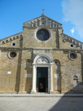 The actual front of the church.