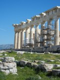 And the Parthenon. It is heavily under construction just at present (and for the last twenty or thirty years.