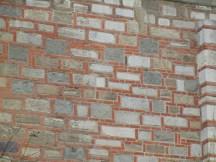 I really enjoyed the fusion of brick and stone work.