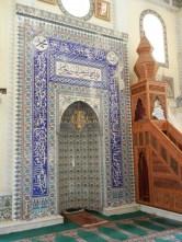 This alcove show both - Izmir tile surrounding Iznik.