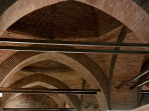 The building was a set of beautiful arched covered market areas ...