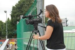 Filming for ASIJ TV